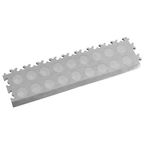MotoLock Interlocking Tile Edging (Light Grey CoinTop)